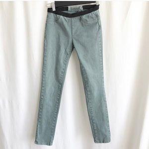 Blanknyc green jeans/leggings